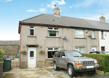 Thumbnail 3 bed end terrace house for sale in Hill Crest Drive, Denholme, Bradford, West Yorkshire