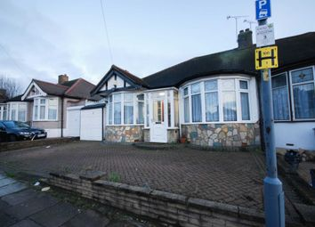 Thumbnail 3 bedroom bungalow to rent in Leigh Avenue, Ilford