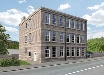 Thumbnail 2 bed flat for sale in 120 Charlestown Road, Glossop
