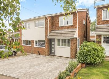 Thumbnail 4 bed semi-detached house for sale in Wolves Mere, Woolmer Green, Knebworth, Hertfordshire