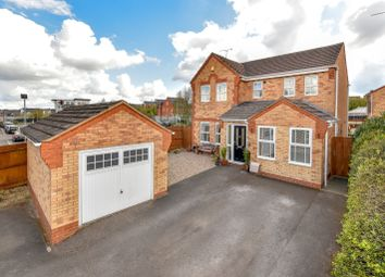 Thumbnail 4 bed detached house for sale in Ryelands Close, Market Harborough, Leicestershire