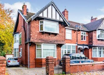 Thumbnail 4 bed semi-detached house for sale in Woodlands Road, Whalley Range, Manchester, Greater Manchester