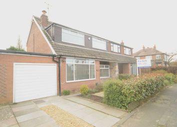 Thumbnail 3 bed semi-detached house for sale in Kildonan Road, Grappenhall, Warrington