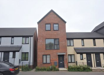 Thumbnail 3 bed terraced house to rent in Ffordd Y Mileniwm, Barry