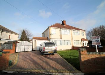 Thumbnail 3 bed semi-detached house for sale in Massbrook Road, Wolverhampton