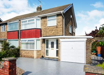 Thumbnail 3 bed semi-detached house for sale in Burwell Drive, Stockton-On-Tees