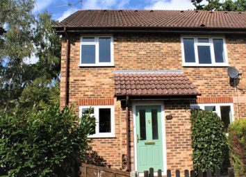 Thumbnail 2 bed end terrace house to rent in Netherhouse Moor, Fleet, Hampshire