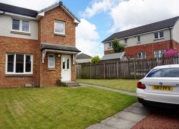 Thumbnail 3 bedroom semi-detached house for sale in Craigendmuir Place, Glasgow
