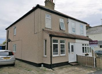 Thumbnail 2 bed semi-detached house for sale in New Road, Southend-On-Sea, Essex SS30An
