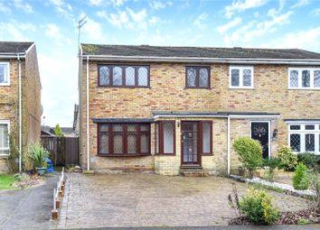 Thumbnail 3 bed semi-detached house to rent in Cambridge Road, Owlsmoor, Sandhurst, Berkshire