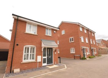Thumbnail 3 bedroom detached house for sale in Fossett Grove, Dunstable