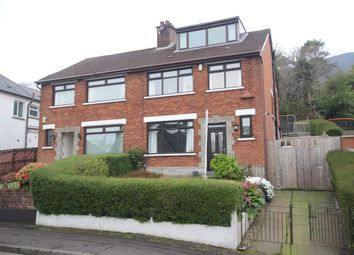Thumbnail 4 bedroom semi-detached house for sale in Glencoe Park, Newtownabbey