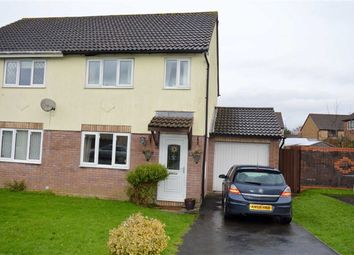 Thumbnail 3 bed semi-detached house for sale in Ffordd Beck, Gowerton, Swansea