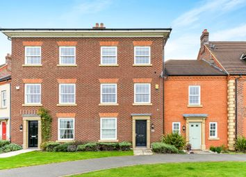 Thumbnail 4 bed town house for sale in Greenkeepers Road, Great Denham, Bedford