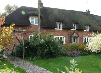 Thumbnail 3 bed semi-detached house for sale in Burr Lane, Shalbourne, Marlborough