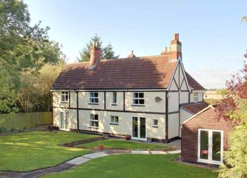 Thumbnail 4 bed farmhouse for sale in Old Road, Great Coates, Grimsby