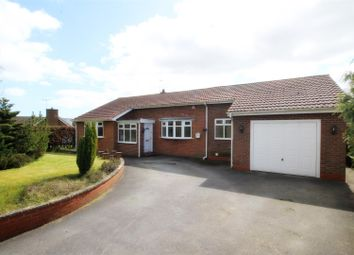 Thumbnail 3 bed detached bungalow for sale in Howl Lane, Hutton, Driffield