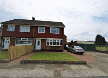 Thumbnail 3 bed semi-detached house for sale in Forfar Avenue, Middlesbrough