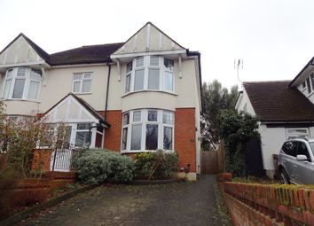 Thumbnail 2 bed semi-detached house for sale in Ruskin Road, Carshalton