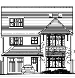 Thumbnail 5 bedroom detached house for sale in 'the Maple', Off Uppingham Road, Leicester