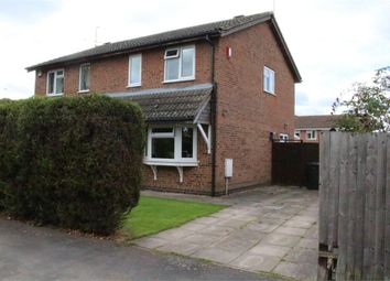 Thumbnail 3 bed semi-detached house for sale in Byre Crescent, Broughton Astley, Leicester