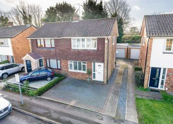 Thumbnail 3 bed semi-detached house for sale in Lindley Road, Walton-On-Thames