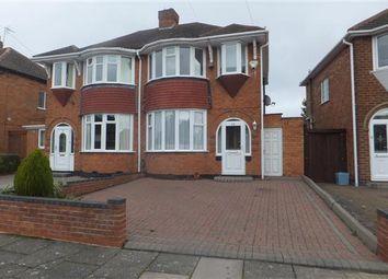 Thumbnail 3 bed semi-detached house to rent in Larne Road, Sheldon, Birmingham