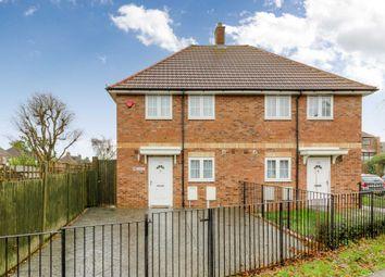Thumbnail 2 bed semi-detached house for sale in Saffron Street, Bletchley, Milton Keynes