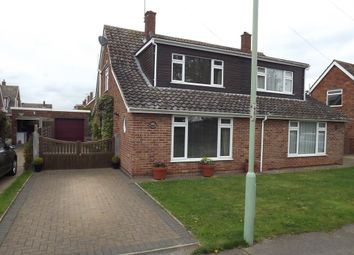 Thumbnail 3 bedroom semi-detached house for sale in Red House Lane, Leiston