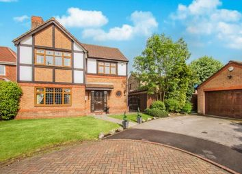 Thumbnail 4 bed detached house for sale in Torridon Close, Cherry Tree, Blackburn, Lancashire