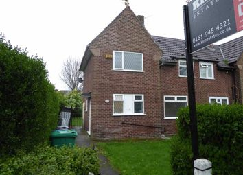 Thumbnail 3 bed semi-detached house to rent in Yew Tree Lane, Northern Moor, Manchester