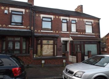 Thumbnail 2 bedroom terraced house for sale in Barthomley Road, Stoke-On-Trent