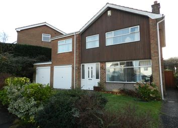 Thumbnail 4 bedroom detached house for sale in Middlebeck Drive, Arnold, Nottingham