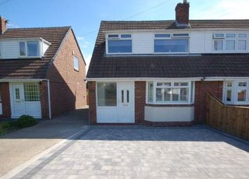 Thumbnail 3 bed semi-detached house for sale in West Moor Drive, West Moor, Newcastle Upon Tyne