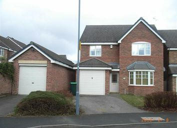 Thumbnail 4 bedroom detached house to rent in Lupin Grove, Tamebrige, Walsall