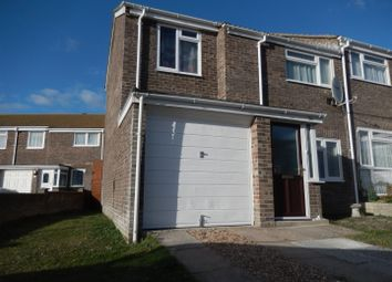 Thumbnail 3 bed end terrace house for sale in Croft Road, Portland