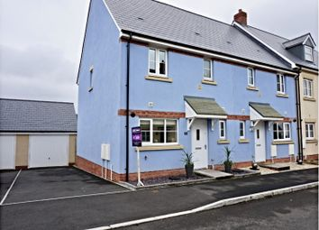 Thumbnail 3 bed end terrace house for sale in Ffordd Y Draen, Bridgend