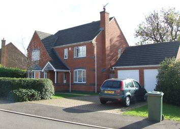 Thumbnail 4 bed property to rent in Burrough Way, Lutterworth