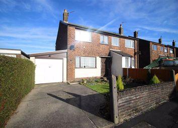 Thumbnail 3 bed semi-detached house for sale in Caton Close, Longridge, Preston