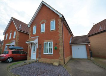 Thumbnail 3 bed detached house for sale in Peak Dale, Carlton Colville, Lowestoft