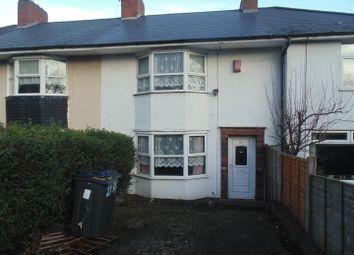 Thumbnail 3 bedroom terraced house for sale in Weycroft Road, Erdington, Birmingham