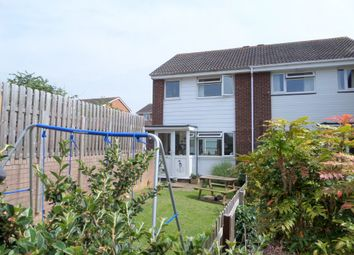 Thumbnail 3 bed end terrace house for sale in Vansittart Drive, Exmouth, Devon