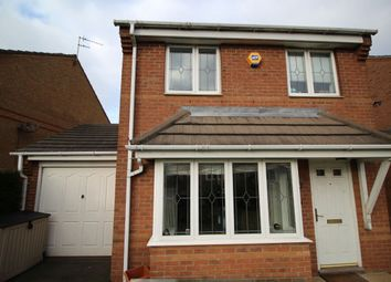 Thumbnail 3 bed detached house for sale in Priestman Road, Thorpe Astley, Braunstone, Leicester