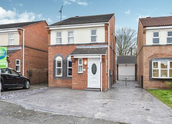Thumbnail Detached house for sale in Hazel Close, Newhall, Swadlincote