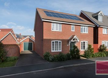 Thumbnail 4 bed detached house to rent in Colossus Way, Hampden View, New Costessey, Norwich