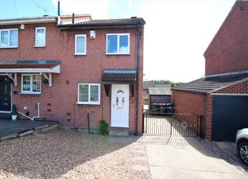 Thumbnail 2 bed semi-detached house for sale in Hazelwood Drive, Swinton, Mexborough