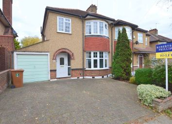 Thumbnail 3 bed semi-detached house to rent in Mount Drive, Harrow