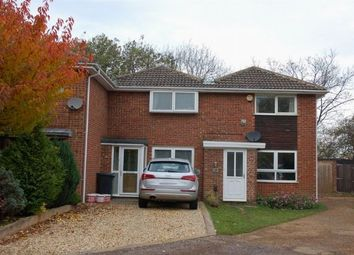 Thumbnail 2 bed terraced house for sale in Hallam Close, Moulton, Northampton