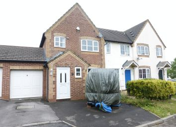 Thumbnail 3 bed end terrace house for sale in Glastonbury Court, Yeovil