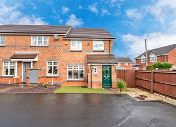 Thumbnail 3 bed end terrace house for sale in Foxes Rake, Cannock